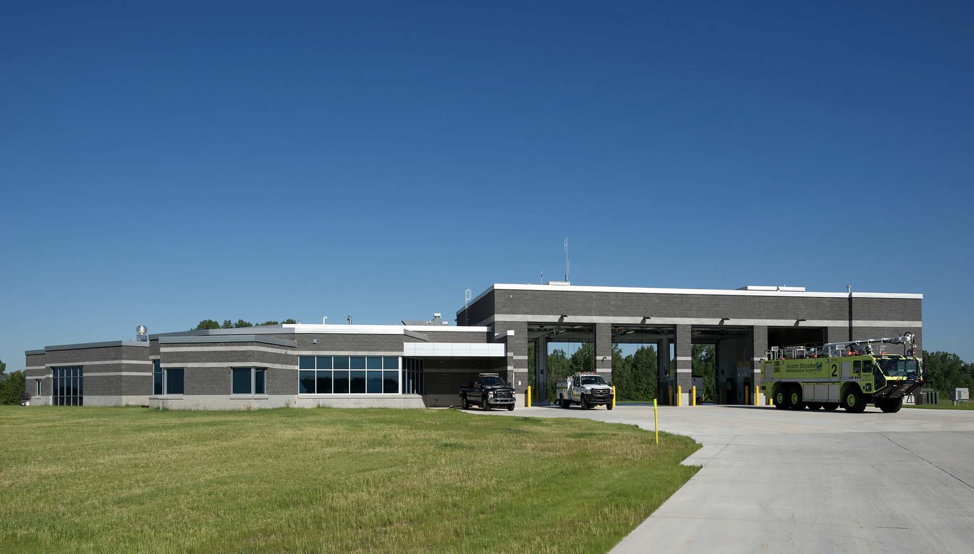Austin Straubel Airport ARFF Building - Green Bay, WI